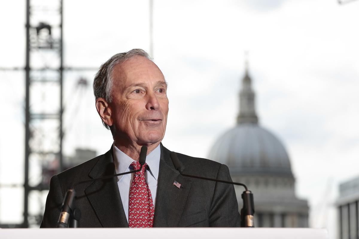 Según Forbes, Michael Bloomberg es 17 veces más rico que Donald Trump