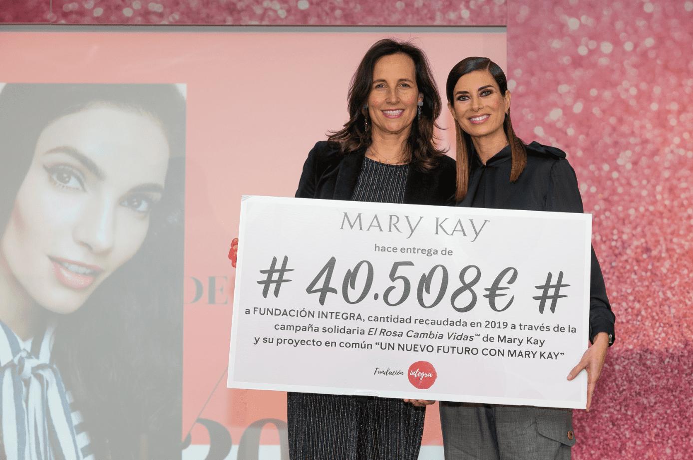 Mary Kay España dona 40.508€ a Fundación Integra, en ayuda a mujeres víctimas de violencia de género