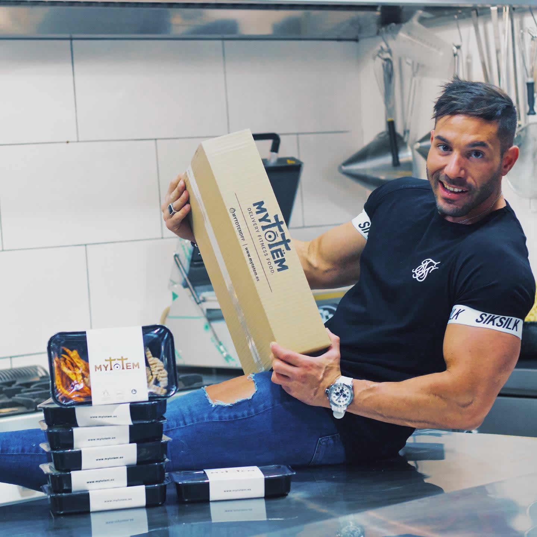 MYTōTëM: Comida fitness gourmet a domicilio – Entrevista Javier Díaz, CEO