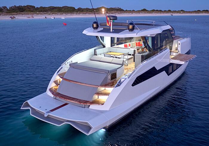Una selección de los yates más icónicos del Astillero español ASTONDOA ponen rumbo a Miami Yacht Show