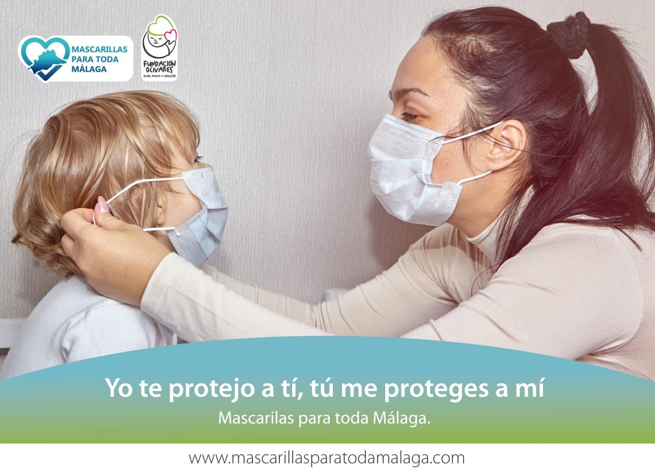 La Fundación Olivares repartirá 1,8 millones de mascarillas en la provincia de Málaga