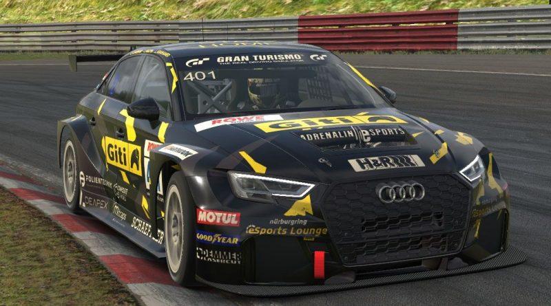 El equipo femenino de Giti Tire Motorsport's se une a la competición virtual de resistencia Nürburgring e-Sports