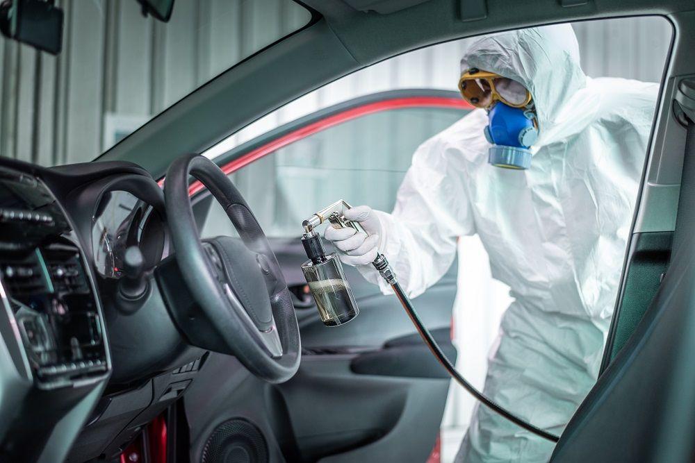 Desinfección de concesionarios y vehículos a precios especiales
