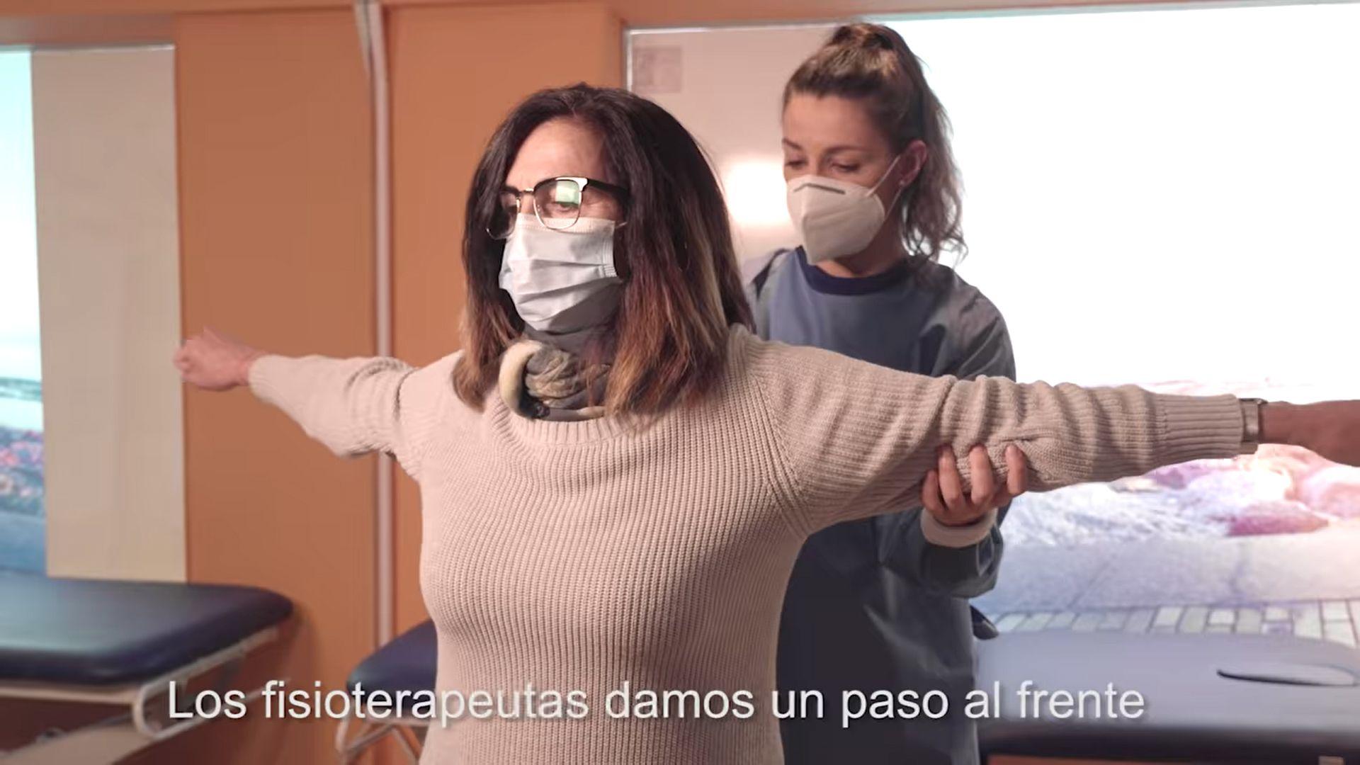 'La Fisioterapia te da el aire que necesitas' de fisioterapeutas españoles