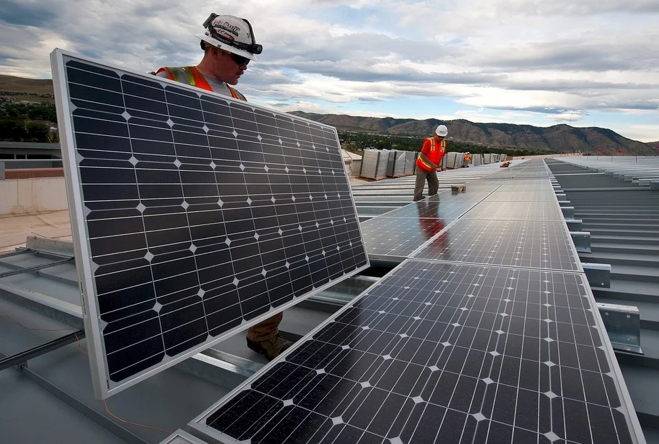 energía solar renovable
