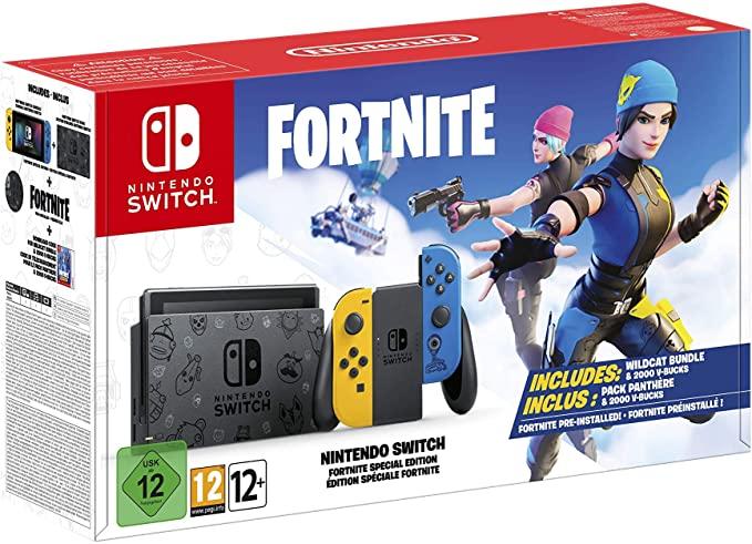Switch edición fornite