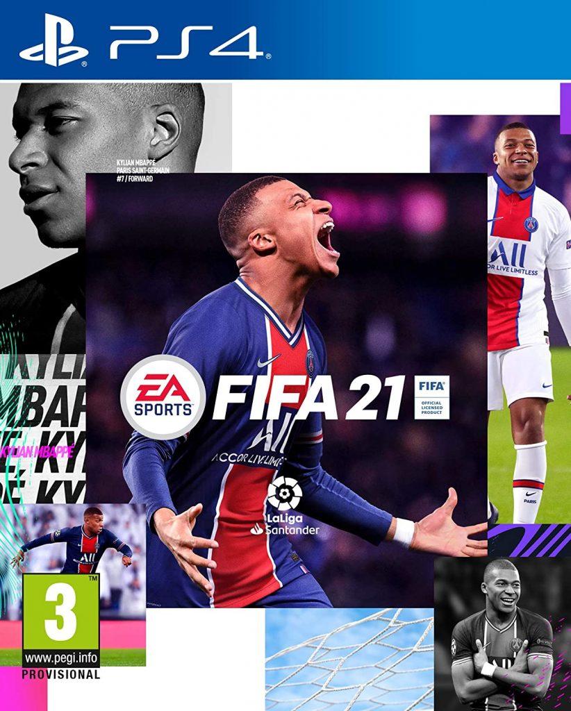 FIFA 21 para Play Station a mitad de precio