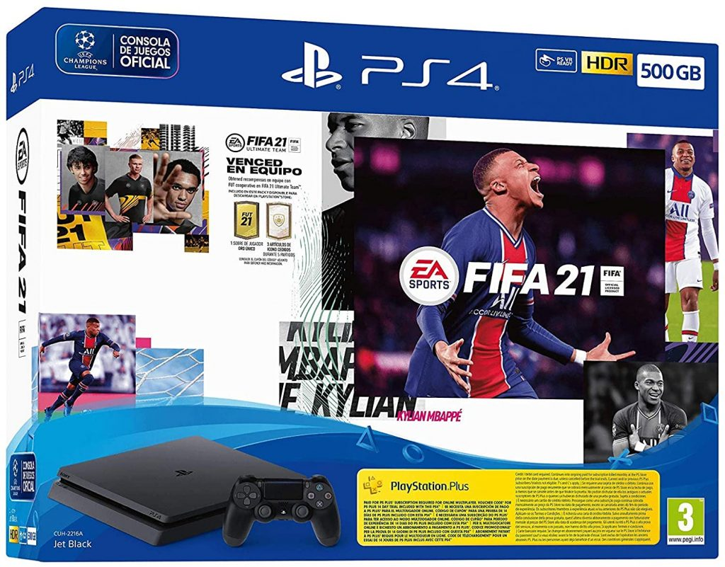 PS4 + FIFA 21
